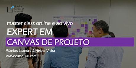 Master Class Expert em Canvas de Projeto com Wankes Leandro & Helber Vieira [online e ao vivo] ingressos