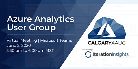 Azure Analytics User Group Meeting tickets