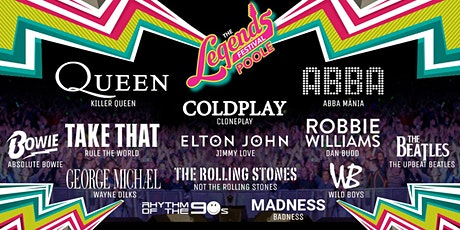 The Legends Festival  - Canford Arena, Poole tickets