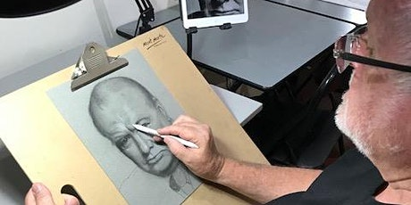 Online art classes in drawing and painting for adults tickets