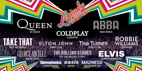 The Legends Festival  - Adur Recreational Ground, Shoreham-by-Sea tickets