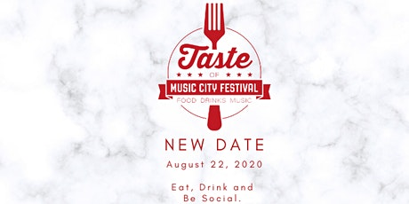 TASTE OF MUSIC CITY - 2020 tickets