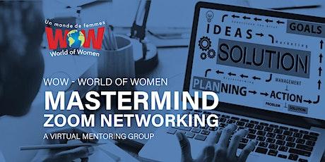 WOW Mastermind Online Zoom Networking tickets