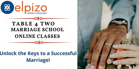 Table4Two - Marriage School tickets