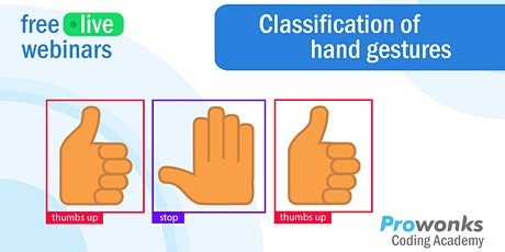 ProWonks Webinar: Classification of Hand Gestures tickets