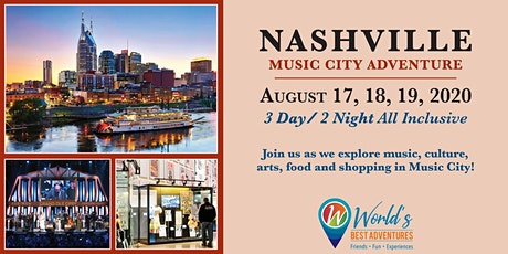 Nashville Music City Adventure tickets