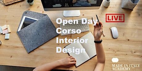 Open Day Interior Design  biglietti