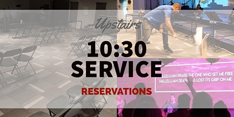 10:30 Service (Upstairs) tickets