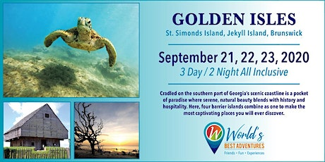 Golden Isles- St. Simon Island, Jekyll Island and Brunswick tickets
