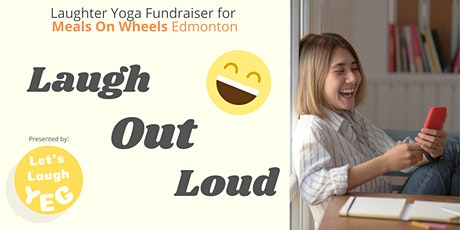 Laughter Yoga Meals on Wheels Edmonton Fundraiser via Zoom tickets