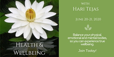 RSVP for Health and Wellbeing On Line Workshop June 20-21 tickets