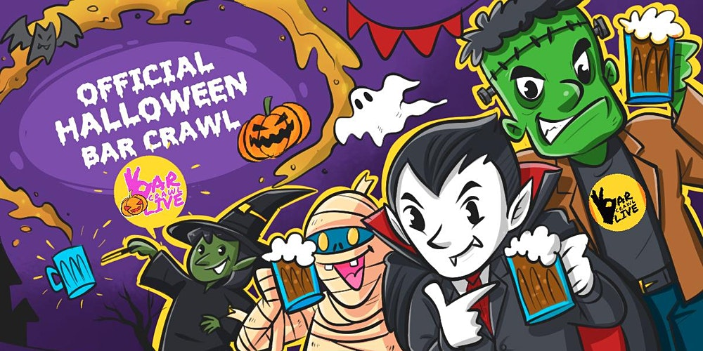 Halloween Pub Crawl In Pittsburgh 2020 Official Halloween Bar Crawl | Pittsburgh, PA   2021 Registration