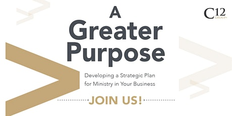 A Greater Purpose for Business Workshop tickets