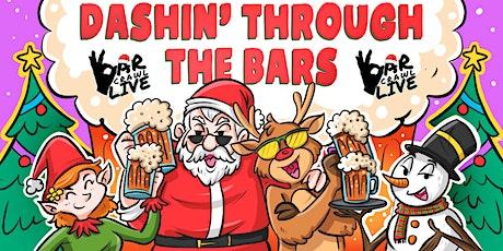 Dashin' Through The Bars Holiday Crawl  | Washington, DC - Bar Crawl Live tickets