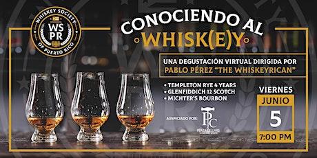 "Noches de Whiskey - ""Conociendo al Whisk(e)y"" tickets"