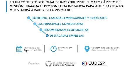 Jornada sobre Empleabilidad y Mercado de Trabajo - Uruguay 2020 ingressos