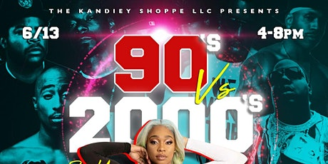 90s vs 2000s POP UP tickets