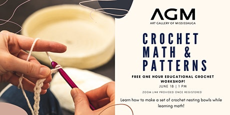 AGM Crochet, Math, and Patterns Tickets