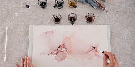 Alcohol Ink Art Workshop tickets