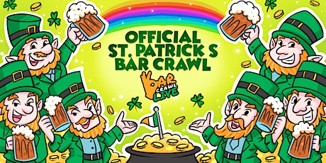 Official St. Patrick's Bar Crawl | Charlotte, NC - Bar Crawl Live tickets