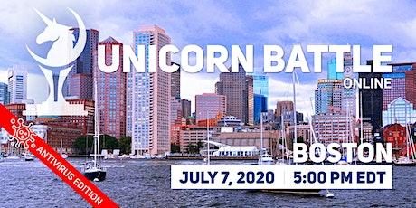 Online Unicorn Battle in Boston biglietti