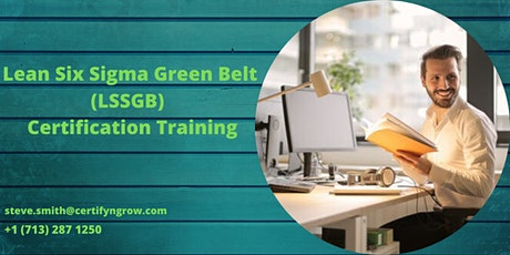 LSSGB 4 Days Certification Training in Anderson, CA,USA tickets