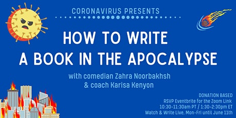 How to Write a Book In the Apocalypse! tickets
