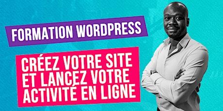 Classe virtuelle - Créez votre site avec WordPress tickets