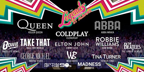 The Legends Festival  - Hertfordshire Showground, St Albans tickets