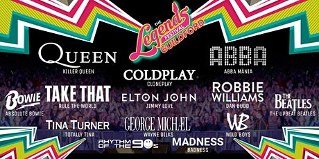 The Legends Festival  - Stoke Park, Guildford tickets
