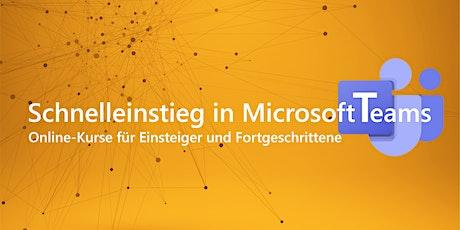Schnelleinstieg in Microsoft Teams - Einführung Tickets
