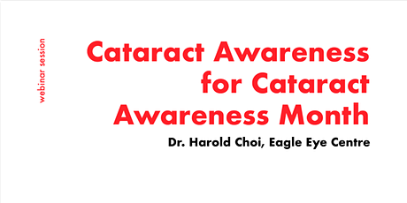 [FREE WEBINAR] Consult a Opthalmologist for Cataracts tickets