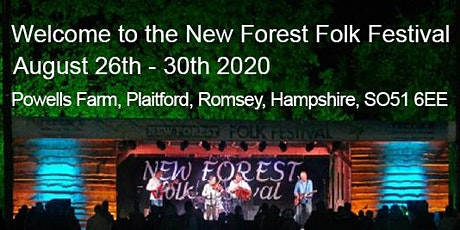 Rescheduled New Forest Folk Festival August 2020  tickets