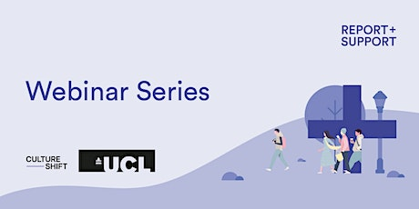 Pre-conference webinar: UCL working with Culture Shift tickets