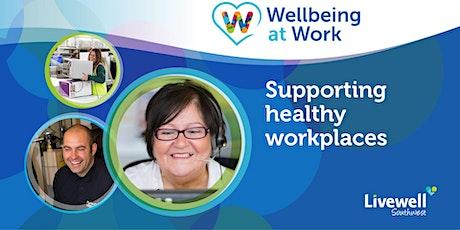 Wellbeing at Work Autumn Forum tickets