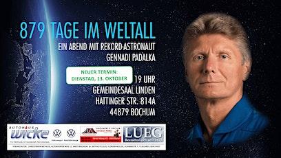 879 Tage im Weltall - Ein Abend mit Rekord-Astronaut Gennadi Padalka tickets