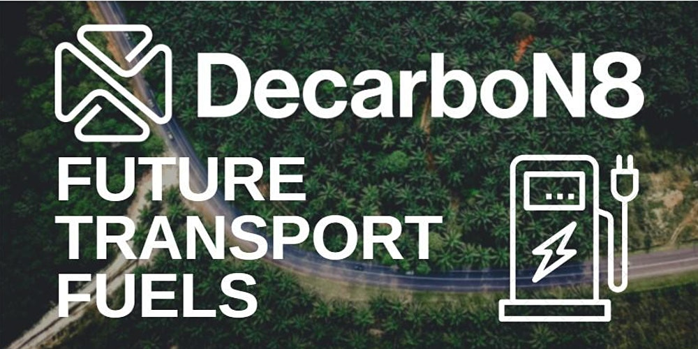 Organiser of DecarboN8 Webinar: Decarbonising Transport by 2050 – the view from government