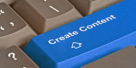 Create Awesome Content - Masterclass tickets