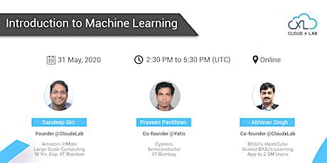 Free Online Webinar on Introduction to Machine Learning | Live Instructor-led Session billets