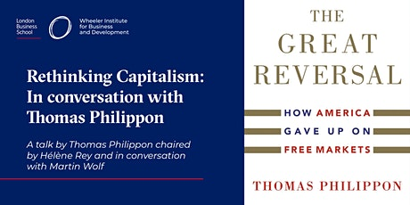Rethinking Capitalism: In conversation with Thomas Philippon tickets