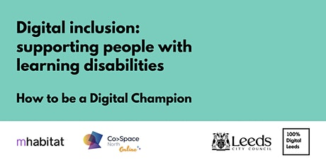 Digital inclusion: supporting people with learning disabilities tickets