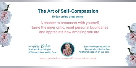 The Art of Self-Compassion tickets