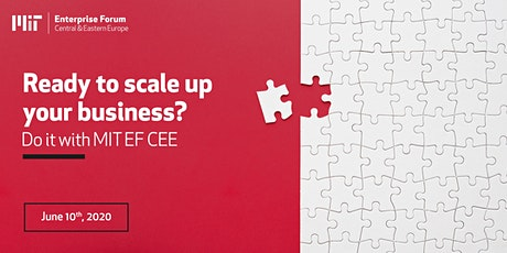 Ready to scale up your business? Do it with MIT EF CEE! tickets