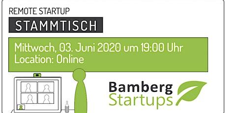 Remote Startup Stammtisch Juni 2020 Tickets