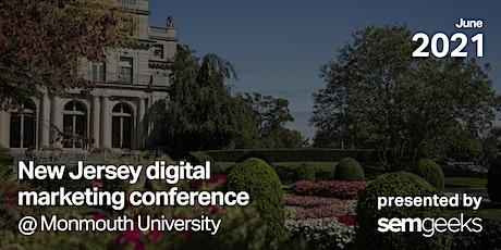 2021 New Jersey Digital Marketing Conference (NJDMC) tickets