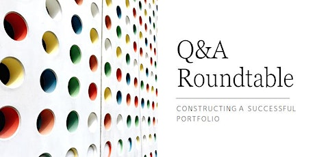 Q&A Roundtable: building an investment portfolio tickets