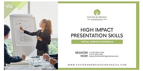 Virtual Learning Experience High Impact Presentation Skills tickets