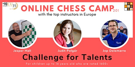 Online Chess Camp:  Challenge for Talents tickets
