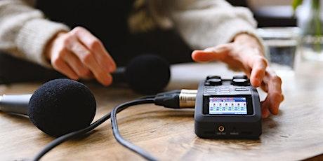 Podcast Webinar - Die Basics online lernen Tickets