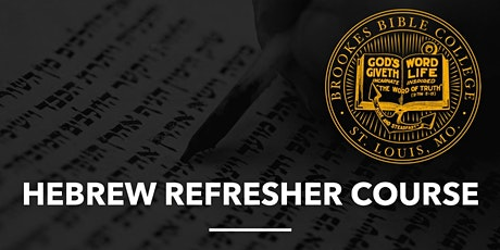 Hebrew Refresher tickets